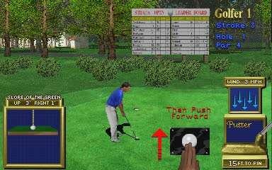 Golden Tee Golf Screenshot