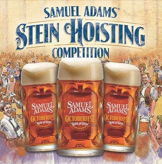 Sam Adams Stein Hosting Competition